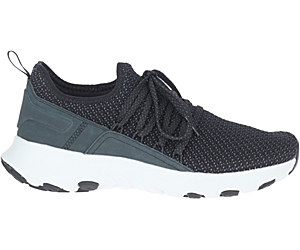 Merrell Cloud Knit, Black/White, dynamic