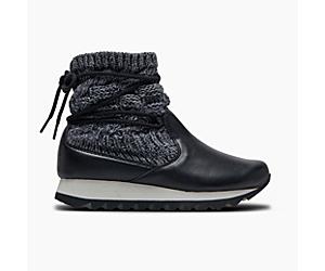 Alpine Pull On Knit, Black, dynamic