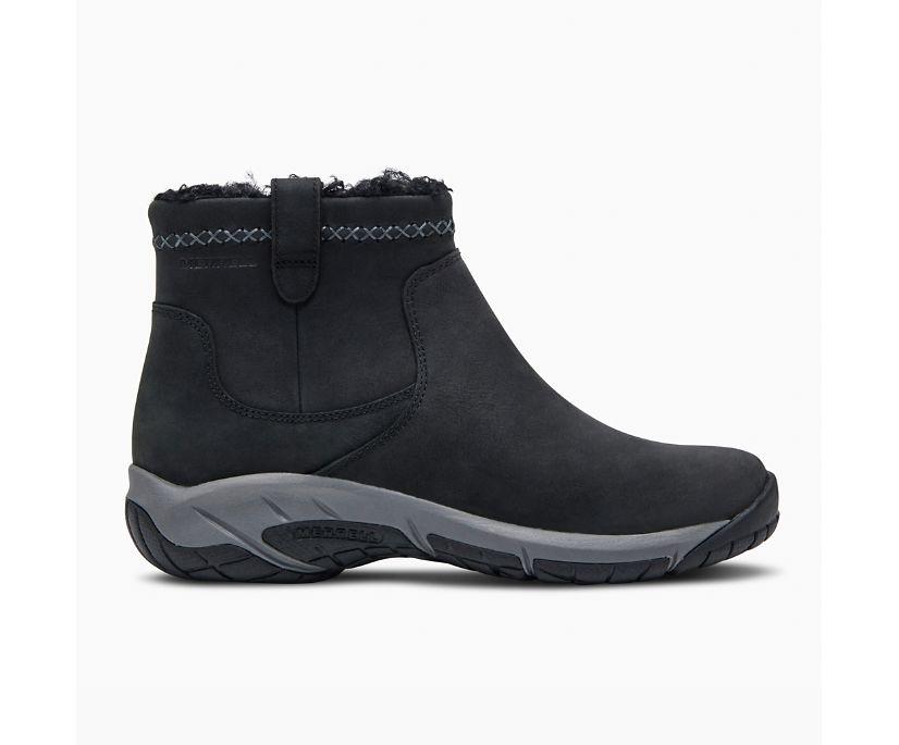 Encore 4 Bluff Zip Polar Waterproof, Black, dynamic