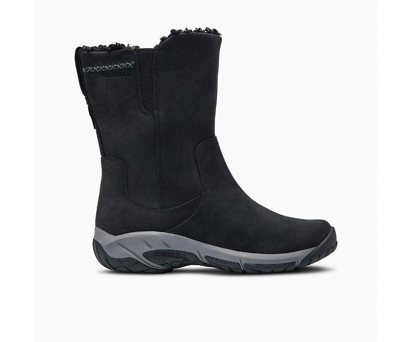 Encore 4 Tall Zip Polar Waterproof, Black, dynamic