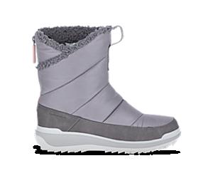 Snowcreek Sport Mid Zip Polar Waterproof, Charcoal, dynamic