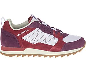 Alpine Sneaker, Brick/Burgundy, dynamic