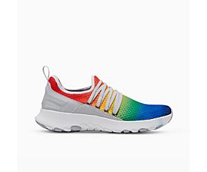 Merrell Cloud Knit, Rainbow Pride, dynamic