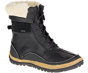 Tremblant Mid Polar Waterproof, Black, dynamic