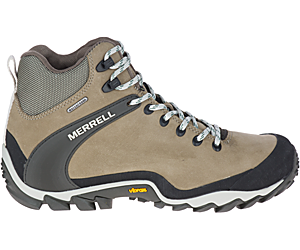Chameleon 8 Leather Mid Waterproof, Brindle, dynamic
