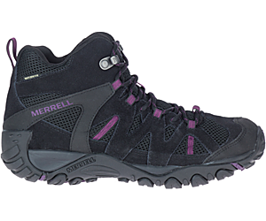 Deverta 2 Mid Waterproof, Black/Blackberry, dynamic
