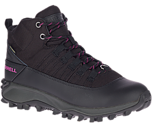 Thermo Alsek Approach Mid Waterproof, Black/Fuchsia, dynamic