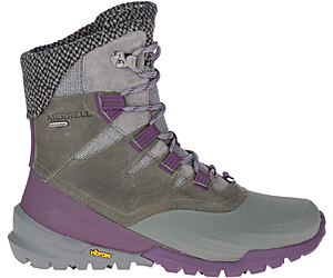 Thermo Aurora 2 Mid Shell Waterproof, Merrell Grey, dynamic