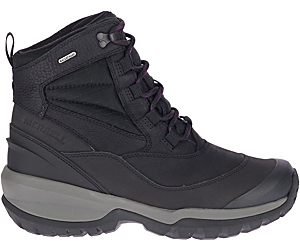Thermo Slush Mid Waterproof, Black, dynamic