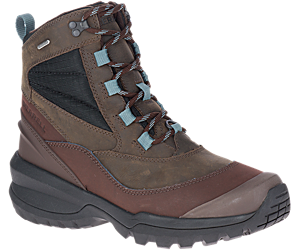 Thermo Slush Mid Waterproof, Seal Brown, dynamic