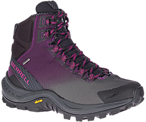 Thermo Cross 2 Mid Waterproof, Black/Fuchsia, dynamic