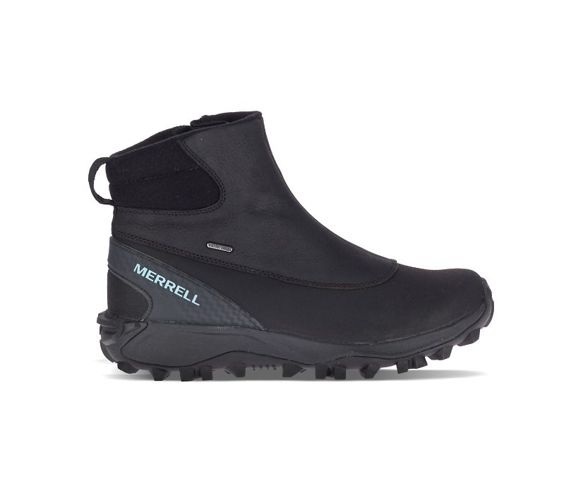 Thermo Kiruna Mid Zip Waterproof, Black/Canal, dynamic
