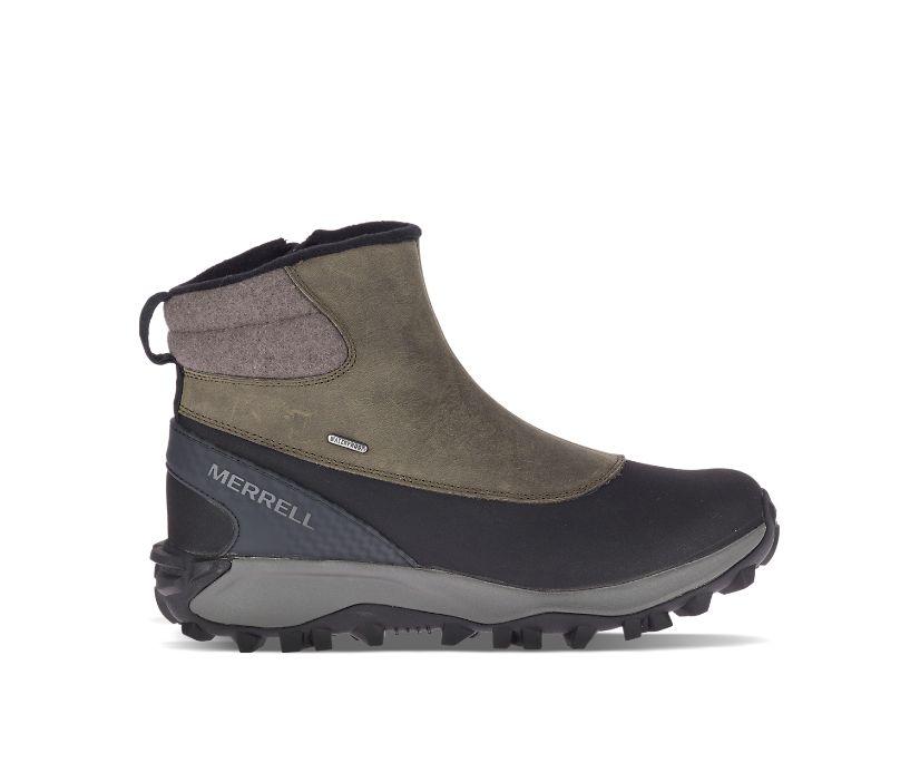 Thermo Kiruna Mid Zip Waterproof, Merrell Grey, dynamic