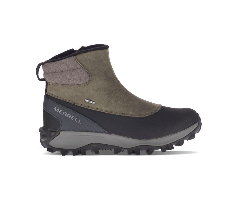 Thermo Kiruna Mid Zip Waterproof, Merrell Grey, dynamic