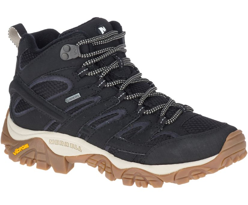 Moab 2 Mid GORE-TEX®, Black/Gum, dynamic