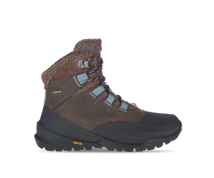 Thermo Aurora 2 Shell Waterproof, Seal Brown, dynamic