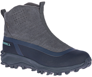 Thermo Snowdrift Zip Mid Shell, Granite, dynamic