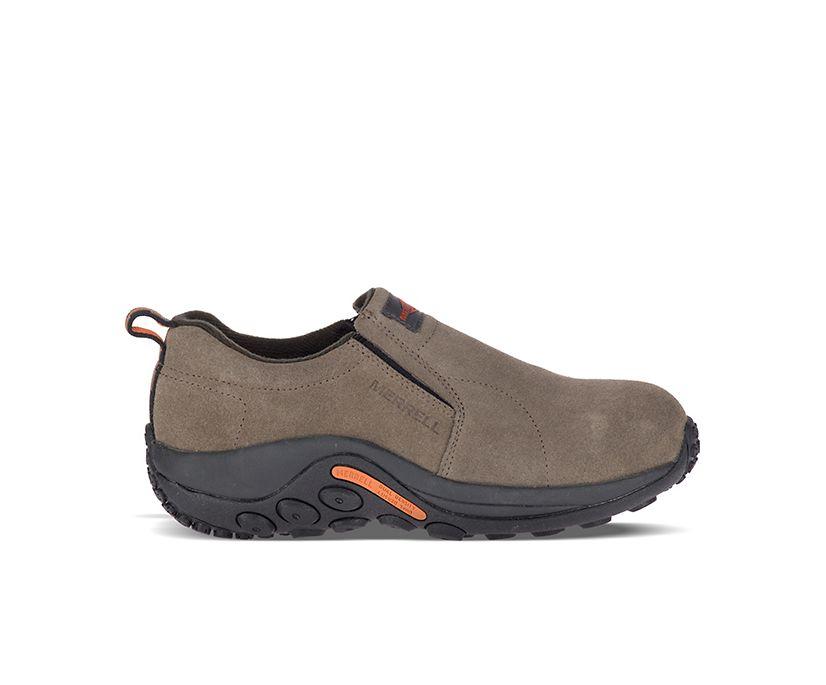 Jungle Moc Alloy Toe Work Shoe, Gunsmoke, dynamic