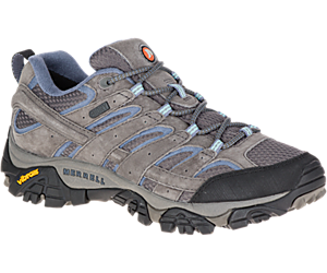 Moab 2 Waterproof Wide Width, Granite, dynamic