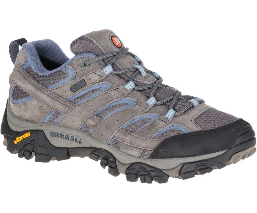 Moab 2 Waterproof Wide Width, Granite, dynamic