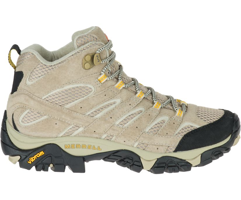 Moab 2 Mid Ventilator Wide Width, Taupe, dynamic