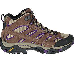 Moab 2 Mid Ventilator, Bracken/Purple, dynamic