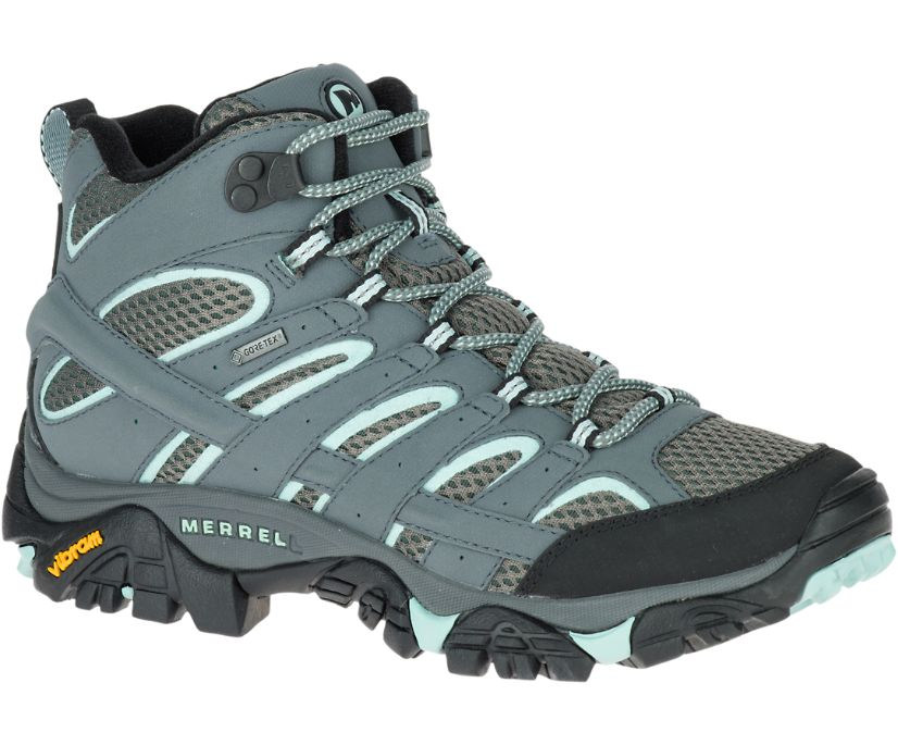 Moab 2 Mid GORE -TEX® Wide Width, Sedona Sage, dynamic