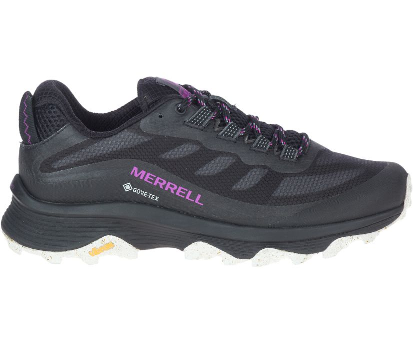Moab Speed GORE-TEX®, Black, dynamic