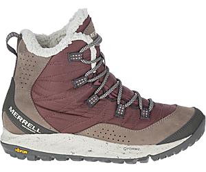Antora Sneaker Boot Waterproof, Marron, dynamic