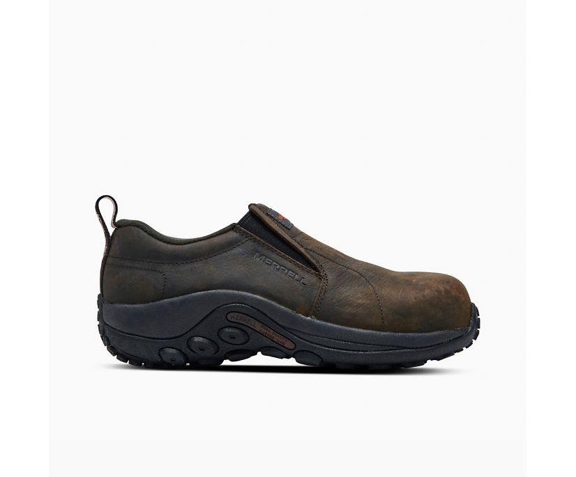 Jungle Moc Leather Comp Toe Work Shoe, Espresso, dynamic