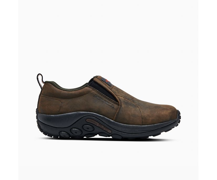 Jungle Moc Leather SR Work Shoe, Espresso, dynamic