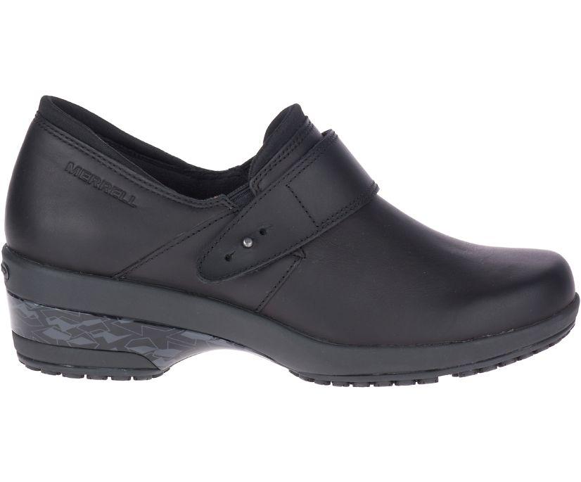 Valetta PRO Moc Work Shoe, Black, dynamic