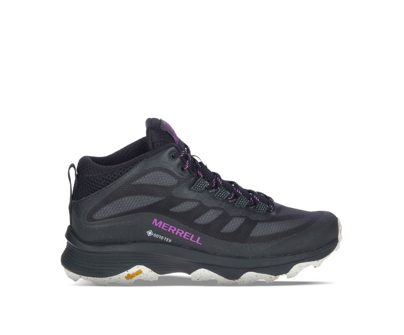 Moab Speed Mid GORE-TEX®, Black, dynamic