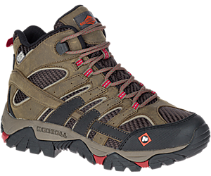 Moab 2 Ventilator Mid Waterproof Work Boot, Boulder, dynamic