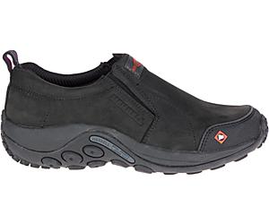Jungle Moc Work Shoe, Black, dynamic