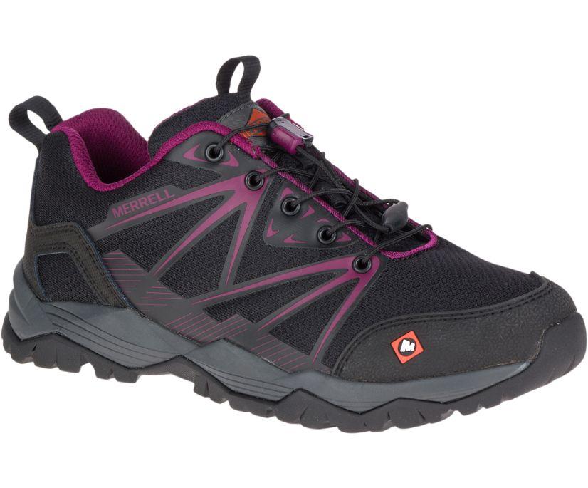 Fullbench Work Shoe, Black, dynamic