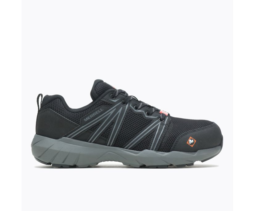 Fullbench Superlite Alloy Toe Work Shoe, Black, dynamic