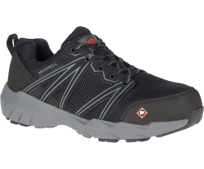 Fullbench Superlite Alloy Toe Work Shoe, Black, dynamic