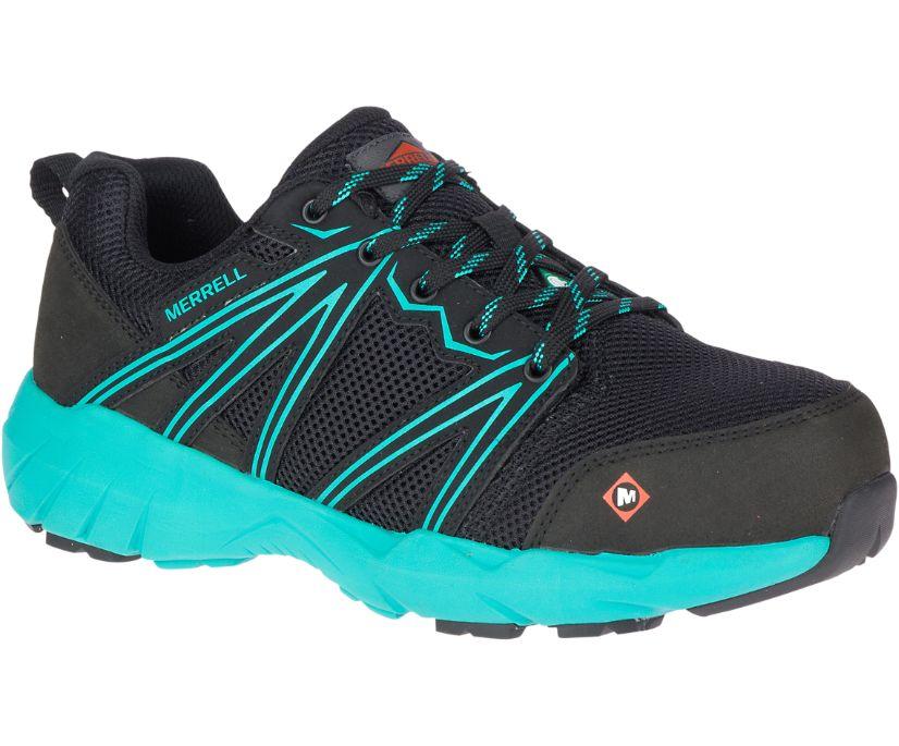 Fullbench Superlite CSA Alloy Toe Work Shoe, Black/Teal, dynamic