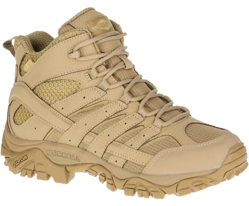 Moab 2 Mid Tactical Waterproof Boot, Coyote, dynamic