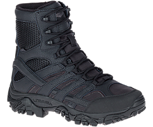"Moab 2 8"" Tactical Waterproof Boot Wide Width, Black, dynamic"