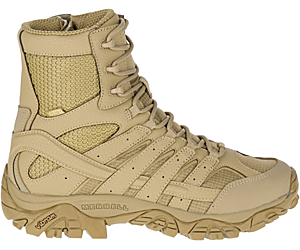 """Moab 2 8"""" Tactical Waterproof Boot Wide Width, Coyote, dynamic"""