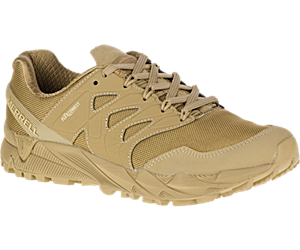 Agility Peak Tactical Shoe, Coyote, dynamic