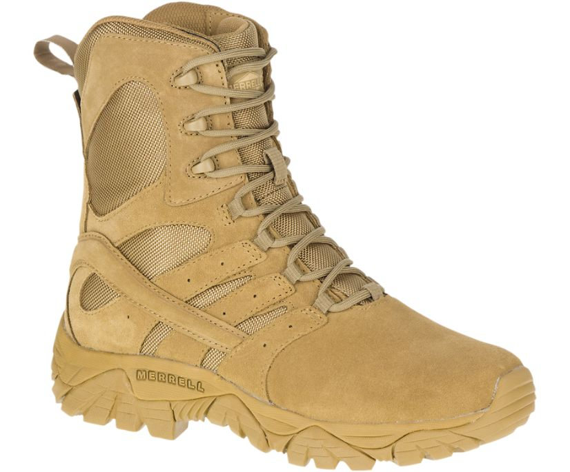 "Moab 2 8"" Tactical Defense Boot, Coyote, dynamic"