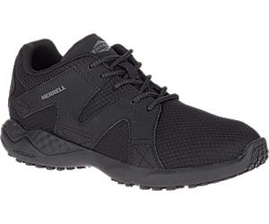 1SIX8 Mesh AC+ PRO Work Shoe, Black, dynamic