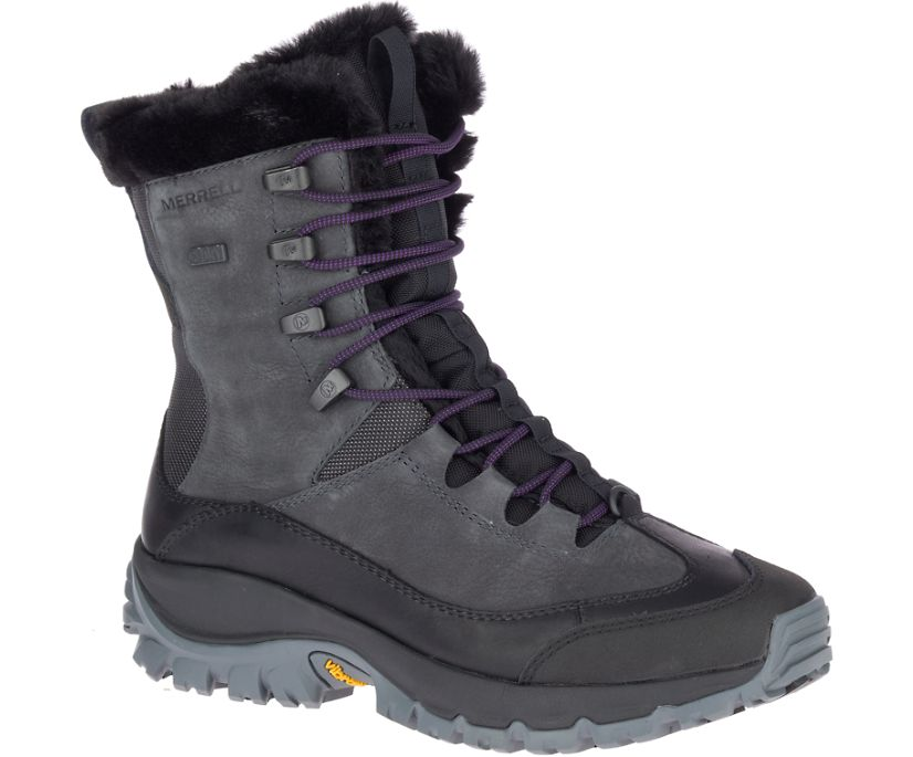 Thermo Rhea Mid Waterproof, Granite, dynamic