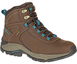 Vego Mid Leather Waterproof, Dark Earth/Britanny Blue, dynamic