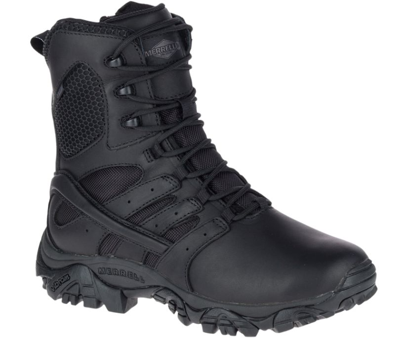 "Moab 2 8"" Tactical Response Waterproof Boot, Black, dynamic"