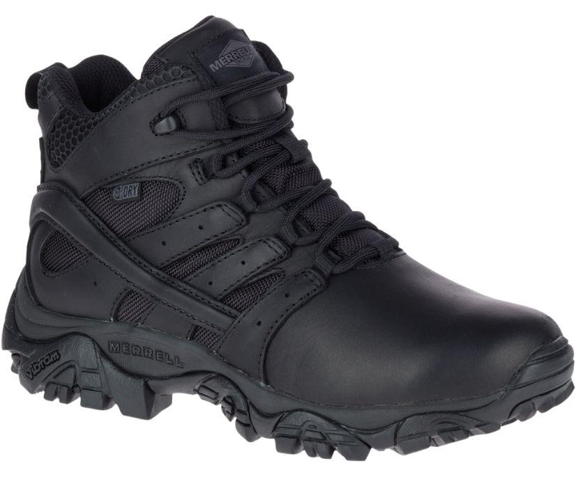 Moab 2 Mid Tactical Response Waterproof Boot, Black, dynamic