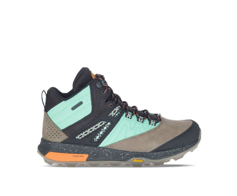 Zion Mid Waterproof X Unlikely Hikers Wide Width, Wave, dynamic